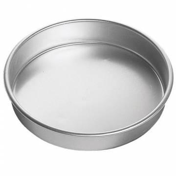 Molde redondo aluminio 20*7 cm Wilton (Und)