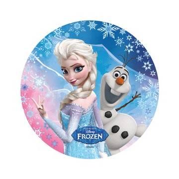 Oblea Frozen 21 Cms (Und)