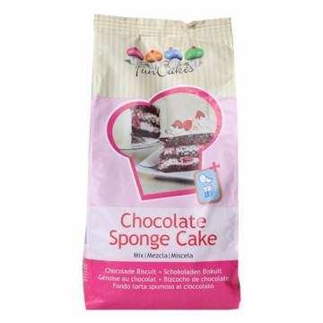 Funcakes Preparado Bizocho Red Velvet (Bolsa 1 kg)