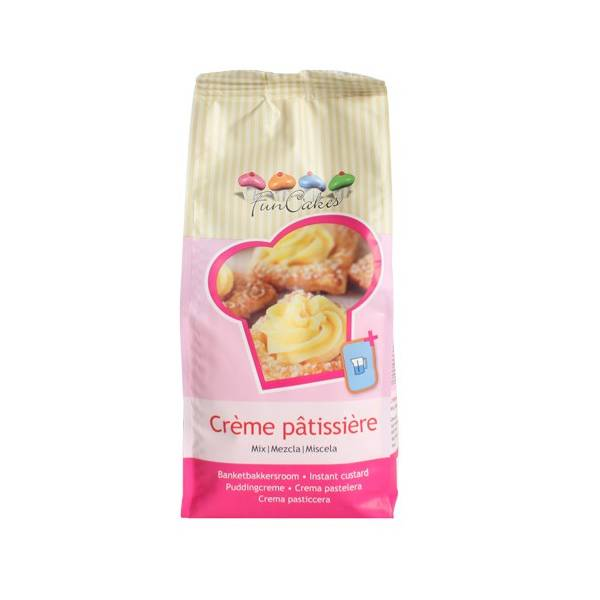 Preparado para crema pastelera Funcakes (500 gr)