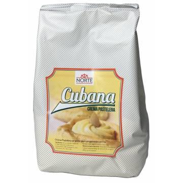 PREPARADO CREMA PASTELERA CUBANA (BOLSA 1 KG)