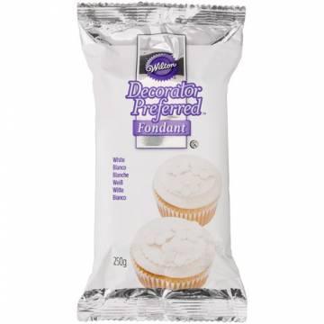 FONDANT WILTON PREFERRED BLANCO (250 GRAMOS)