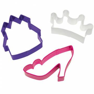 SET CORTADORES PRINCESAS WILTON (SET 3 UNDS)