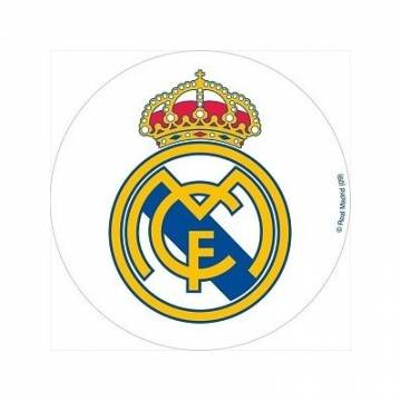 "DISCO OBLEA ESCUDO ""REAL MADRID"" 21 CMS (UND)"