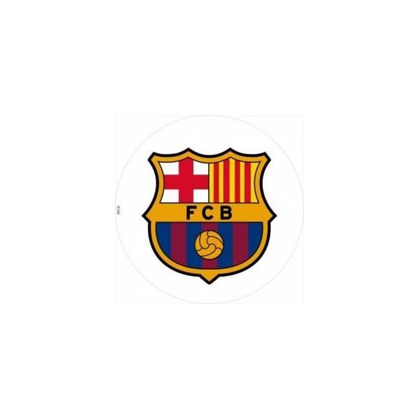 Escudo Fc Barcelona En Oblea Para Tartas 21 Cm Novapast