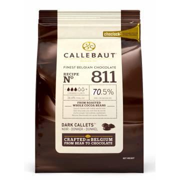 """CHOCOLATE BELGA CALLEBAUT """"NEGRO"""" 70 % (B. 2,5 KG)"""