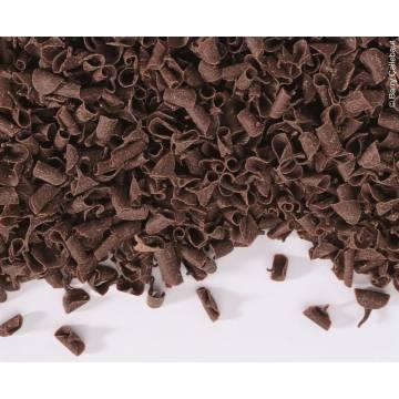 RIZOS DE CHOCOLATE NEGROS CALLEBAUT (CAJA 1 KG)