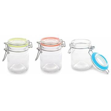 VASO MONOPORCION CRISTAL 160 ML (SET 3 BOTES)