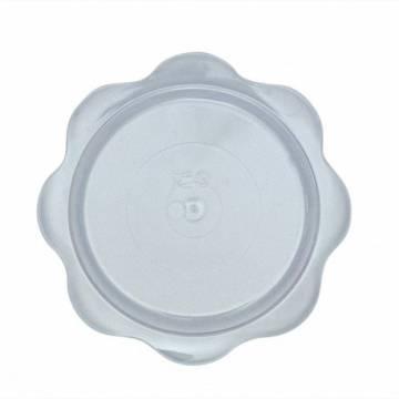 PLATILLO PVC SEMIFRIOS REDONDO (PAQ. 100 UNDS)