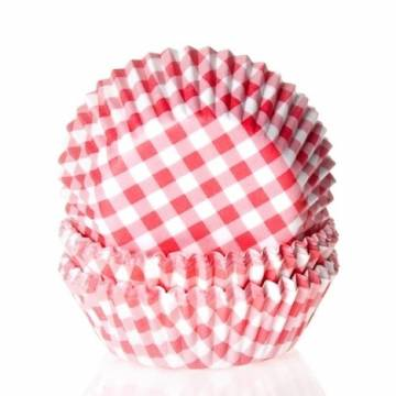 "MINI-CÁPSULAS HOUSE OF MARY ""GINGHAM RED"" (50 UND)"