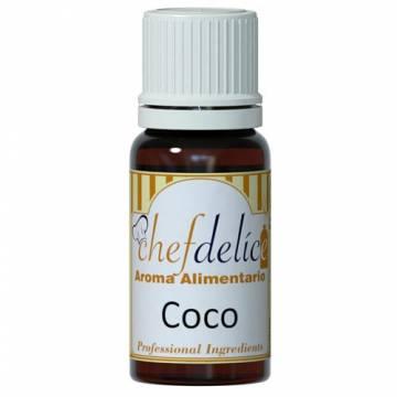 """AROMA CONCENTRADO CHEFDELICE """"COCO"""" (10 ML)"""