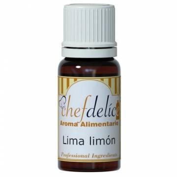 "AROMA CONCENTRADO CHEFDELICE ""LIMA LIMON"" (10 ML)"