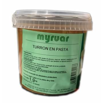 TURRON EN PASTA JL (CUBO 1.9 KGS)