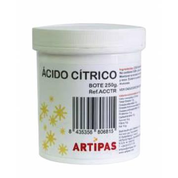 ACIDO CÍTRICO ARTIPAS (BOTE 250 GRAMOS)