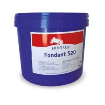 FONDANT BLANCO S20 (CUBO 15 KGS)