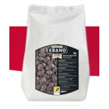 """CHOCOLATE PURO NEGRO 54% """"EBANO"""" (BOLSA 1 KG)"""