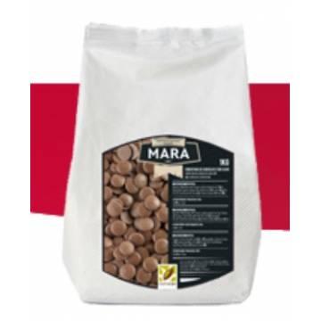 """CHOCOLATE PURO CON LECHE """"MARA""""(BOLSA 1 KG)"""
