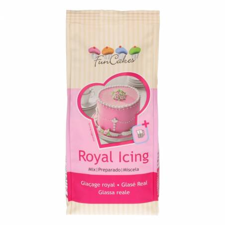 ROYAL ICING 500 GR - GLASA REAL FUNCAKES (0.5 KG)