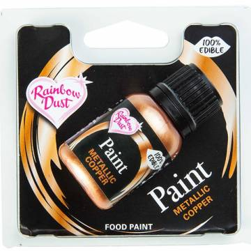 "RAINBOW PINTURA METALICA ""COBRE"" (25 ML)"