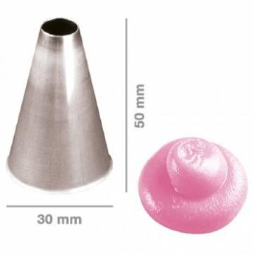 BOQUILLA INOX. LISA 16 MM (UND)