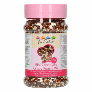 FUNCAKES MINI CHOCOLATE CRISPY PEARLS MIX(175 GRM)