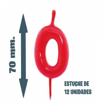 Velas Pastel Nº 0 (12 ud)