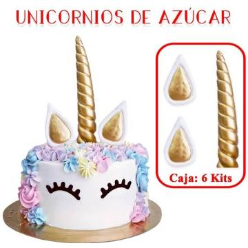SET DECORACION UNICORNIO...