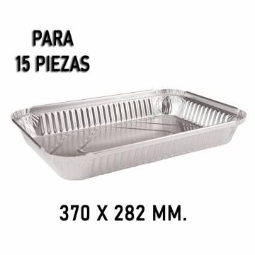 BANDEJA DE ALUMINIO 15...