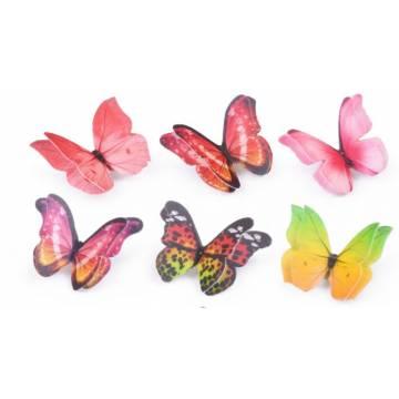 Mariposas 3D de oblea...