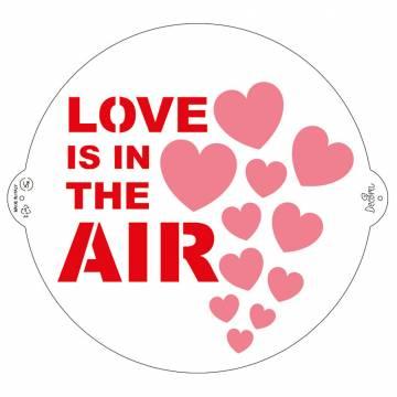 DECORA STENCIL LOVE IS IN...