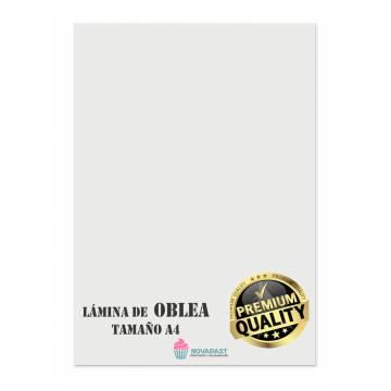 Laminas De Oblea A4...